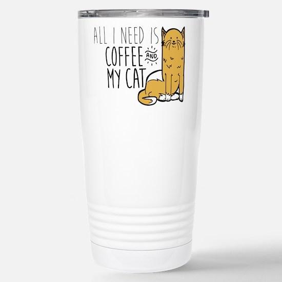 All I Need Is Cof Travel Mug