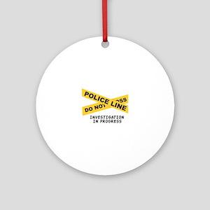 Investigation Ornament (Round)