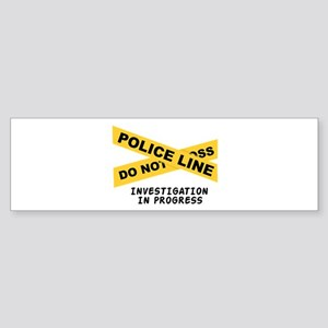 Investigation Bumper Sticker