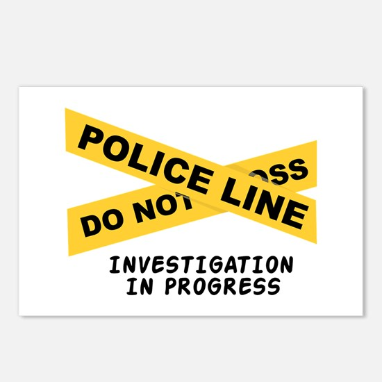 Investigation Postcards (Package of 8)