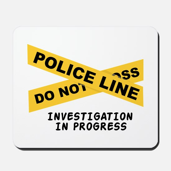 Investigation Mousepad