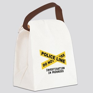 Investigation Canvas Lunch Bag