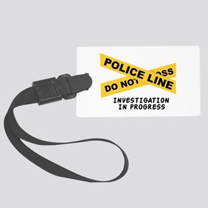 Investigation Luggage Tag