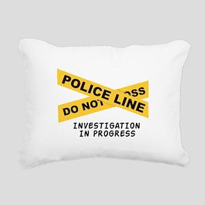Investigation Rectangular Canvas Pillow