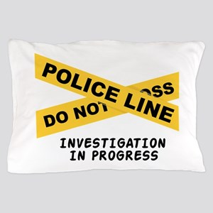 Investigation Pillow Case