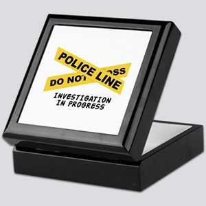 Investigation Keepsake Box