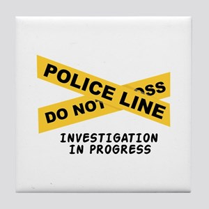 Investigation Tile Coaster