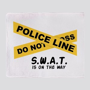 SWAT On The Way Throw Blanket