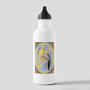 Cockatiels Stainless Water Bottle 1.0L