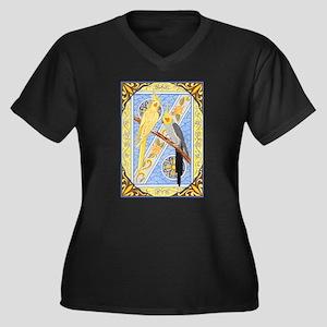 Cockatiels Plus Size T-Shirt
