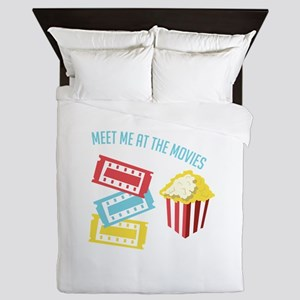 Meet At Movies Queen Duvet