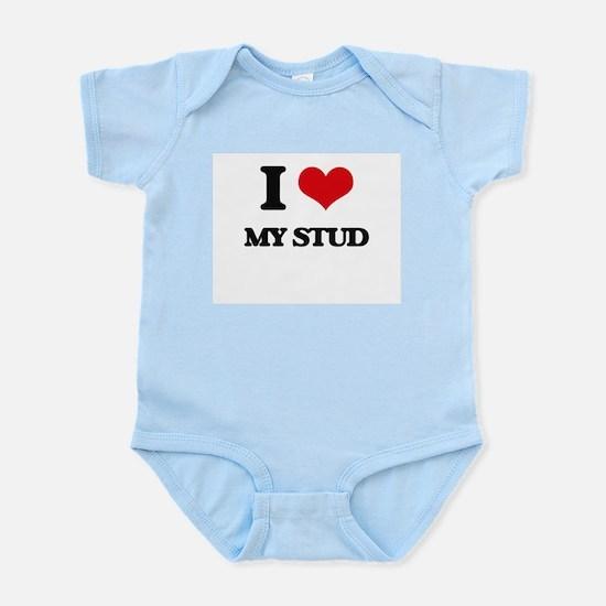 I love My Stud Body Suit