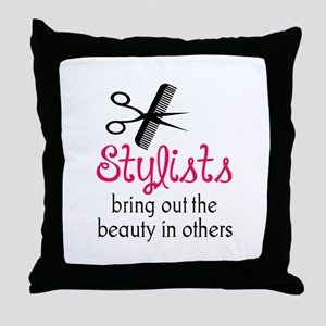 THE BEAUTY IN OTHERS Throw Pillow