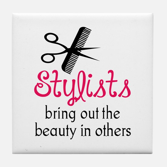 THE BEAUTY IN OTHERS Tile Coaster