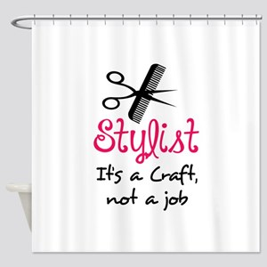 STYLIST ITS A CRAFT Shower Curtain