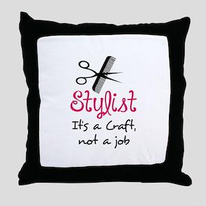 STYLIST ITS A CRAFT Throw Pillow