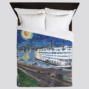 Mississippi Riverboat Queen Duvet