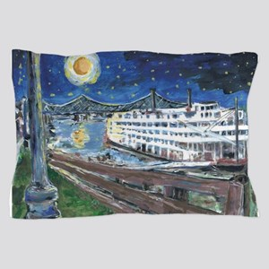 Mississippi Riverboat Pillow Case