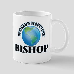 World's Happiest Bishop Mugs
