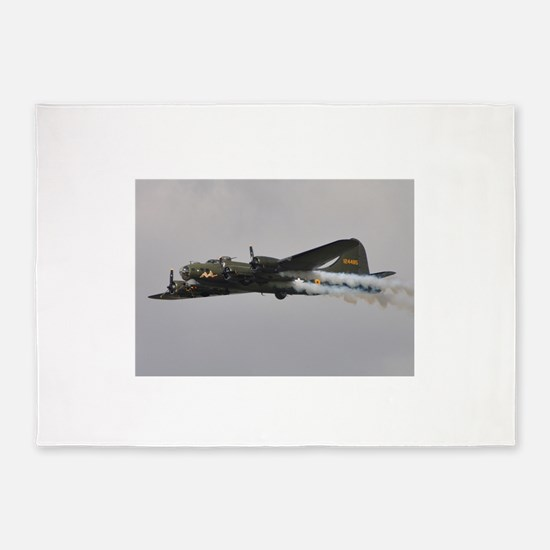 B-17G Flying Fortress 5'x7'Area Rug