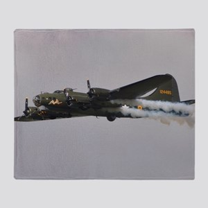 B-17G Flying Fortress Throw Blanket