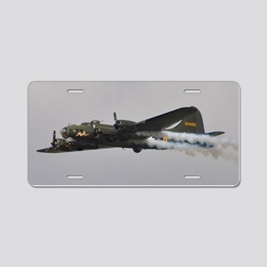 B-17G Flying Fortress Aluminum License Plate