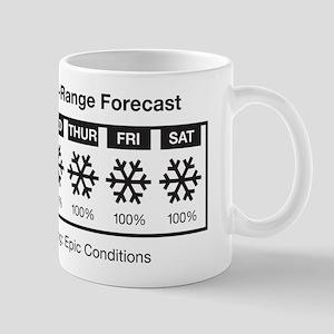 Happy Skier Forecast Mug