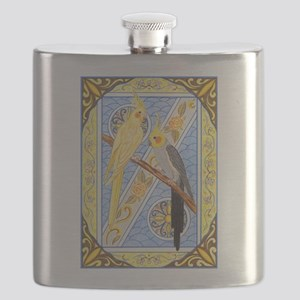 Cockatiels Flask