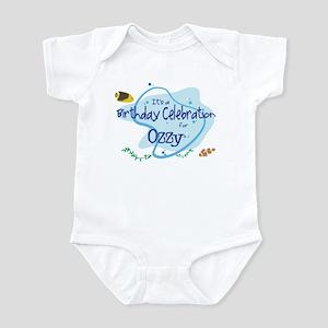 Celebration for Ozzy (fish) Infant Bodysuit