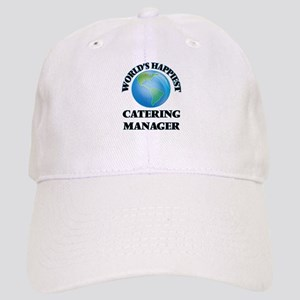 World's Happiest Catering Manager Cap
