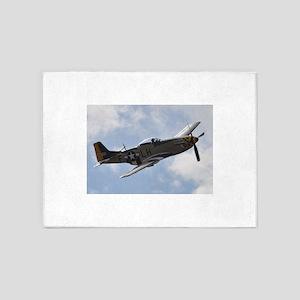 P-51D Mustang 5'x7'Area Rug