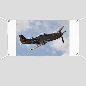 P-51D Mustang Banner