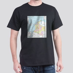 Colombia mapa oficial T-Shirt