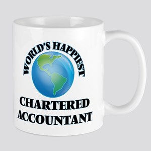World's Happiest Chartered Accountant Mugs