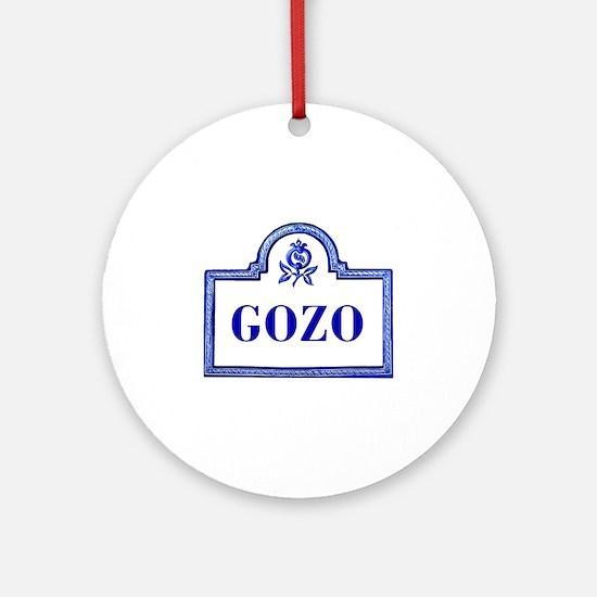 Gozo, Granada - Spain Ornament (Round)