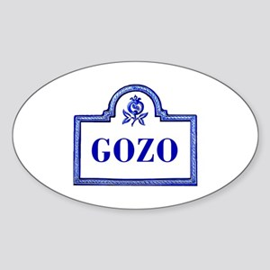 Gozo, Granada - Spain Oval Sticker