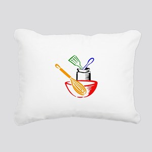 COOKING UTENSILS Rectangular Canvas Pillow