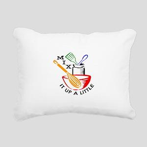 MIX IT UP A LITTLE Rectangular Canvas Pillow