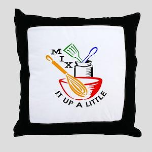 MIX IT UP A LITTLE Throw Pillow