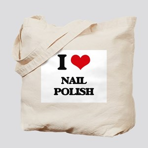 I Love Nail Polish Tote Bag