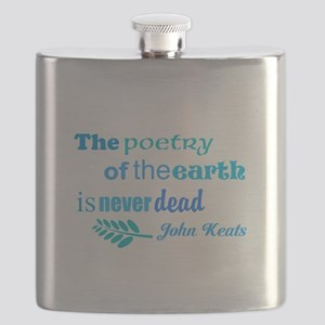Earth Poem Flask