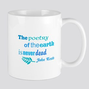 Earth Poem Mugs