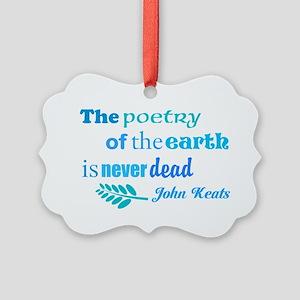 Earth Poem Ornament