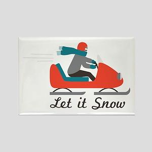 Let It Snow Magnets