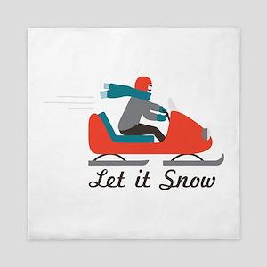 Let It Snow Queen Duvet