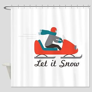 Let It Snow Shower Curtain