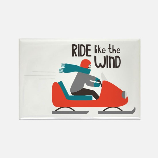 Ride Like The Wind Magnets