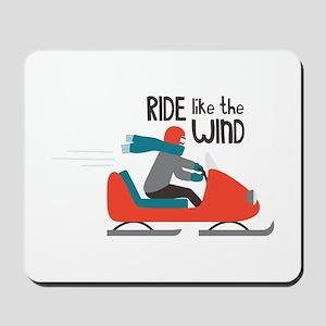 Ride Like The Wind Mousepad