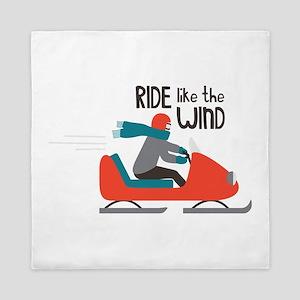 Ride Like The Wind Queen Duvet
