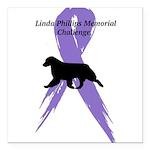 Linda Phillips Memorial Square Car Magnet 3